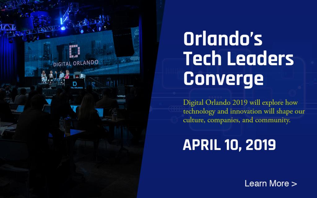 Digital Orlando 2019 popup ad